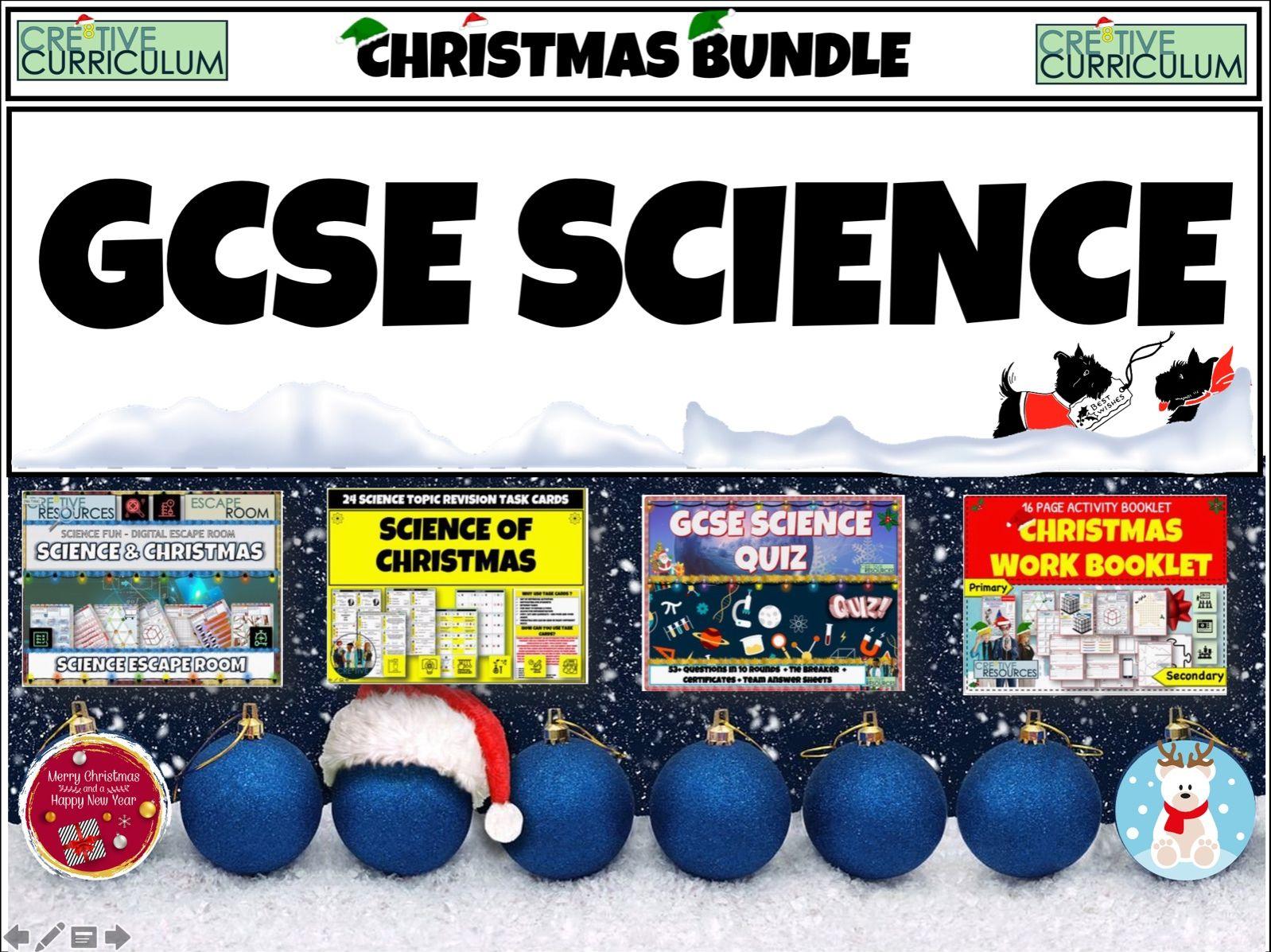 GCSE Science Christmas Bundle