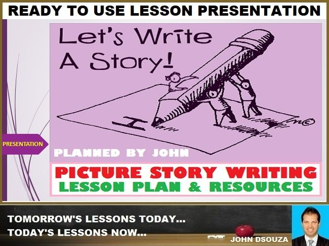 PICTURE PERCEPTION STORY WRITING: LESSON PRESENTATION
