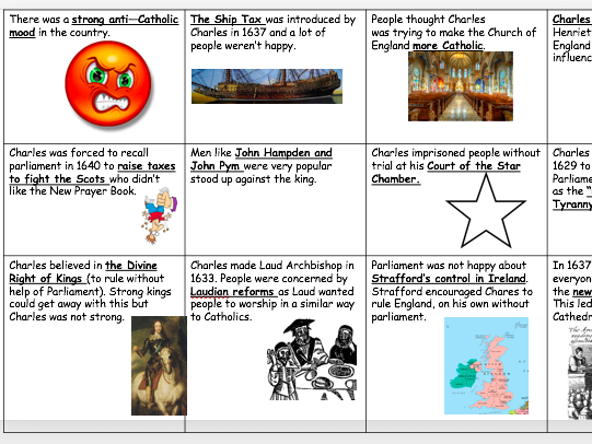 The English Civil War Lesson 2 - Causes of the Civil War