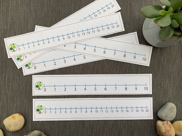 Number lines to 10 and 20