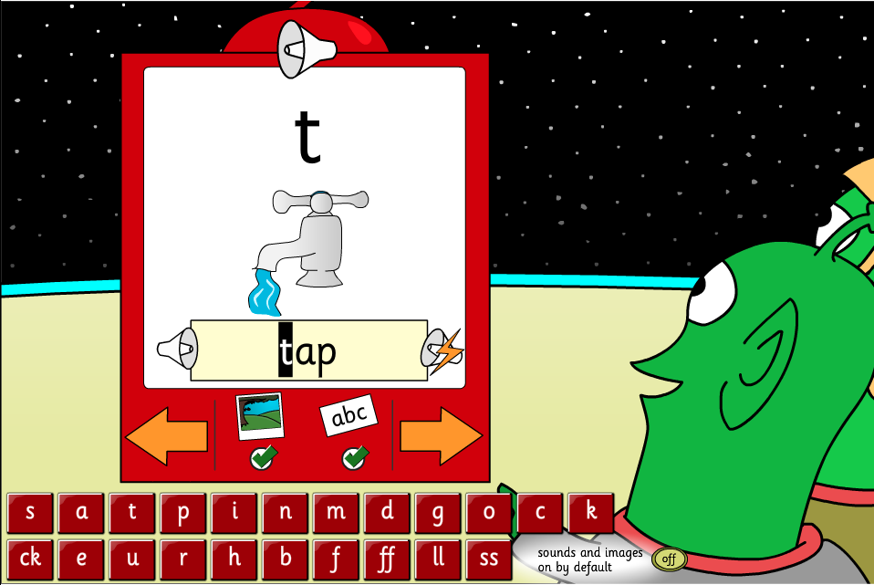 Letter Sounds Game - Interactive Activity - Phase 2 Sets 1-5