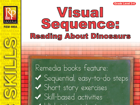 Visual Sequence: Reading About Dinosaurs