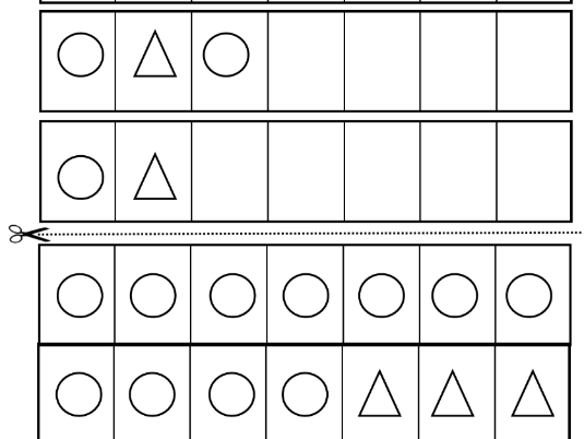 Repeated shape patterns