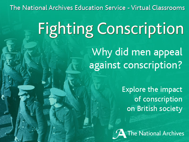 Fighting Conscription Virtual Classroom
