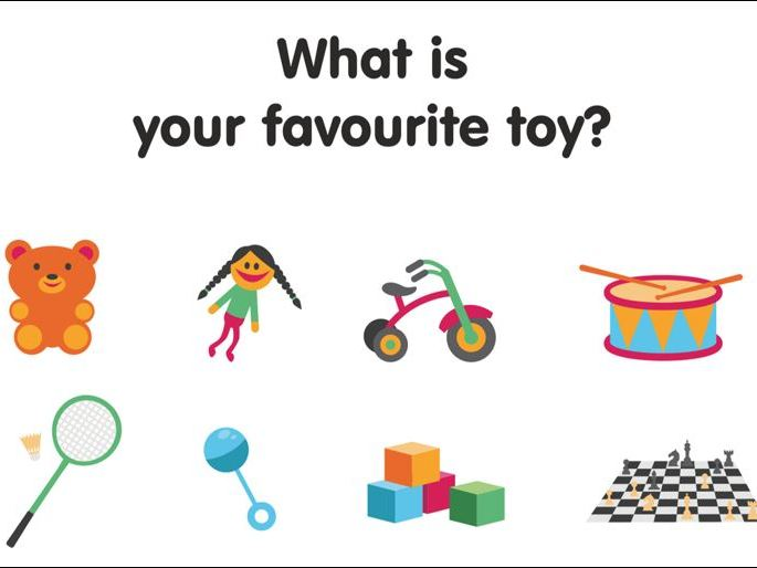 Let's talk about our Favourite Toys