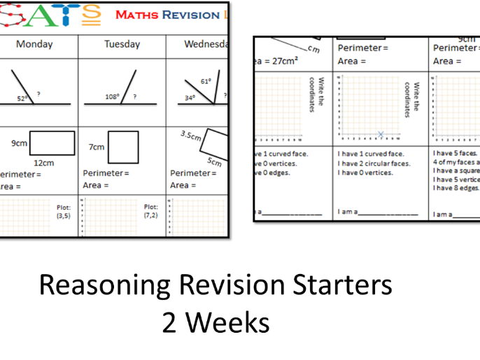 SATs Reasoning Daily Revision Year 6