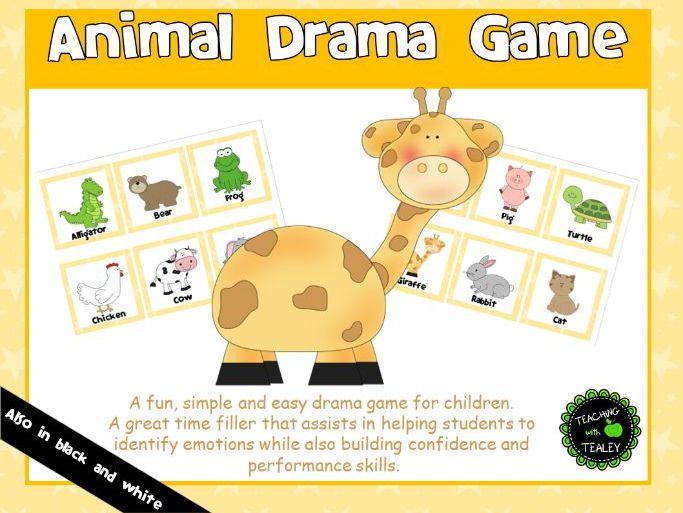 Animal Drama Game