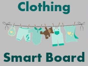 Ropa (Clothing in Spanish) Smartboard Activities