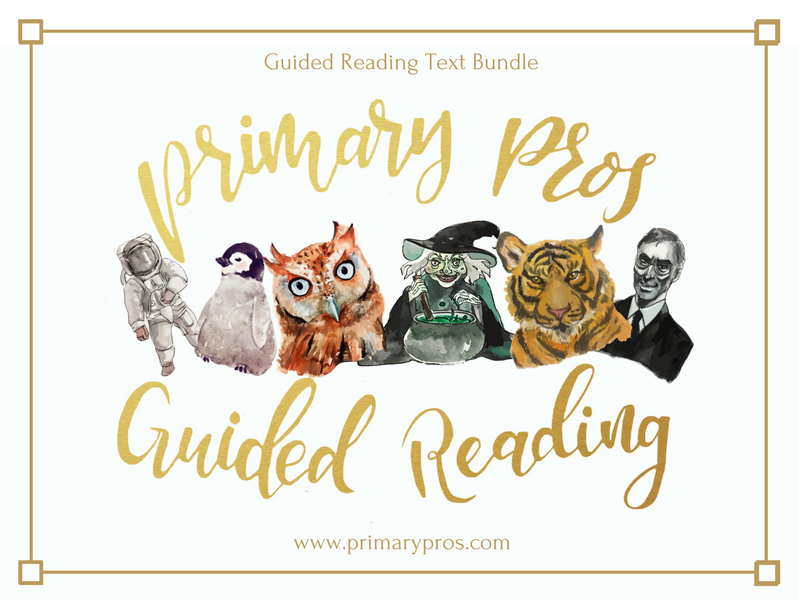 Year 3 & 4 Guided Reading Texts Bundle