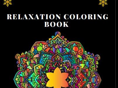 The relaxation coloring book for adult: 50 unique and complex mandalas for Stress Relief