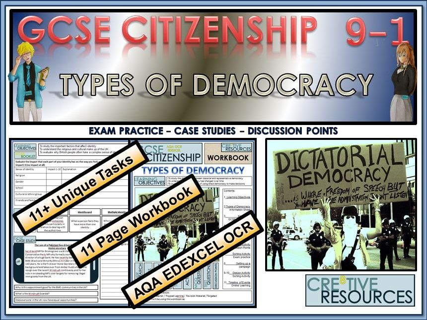 GCSE Citizenship (9-1) Types of Democracy