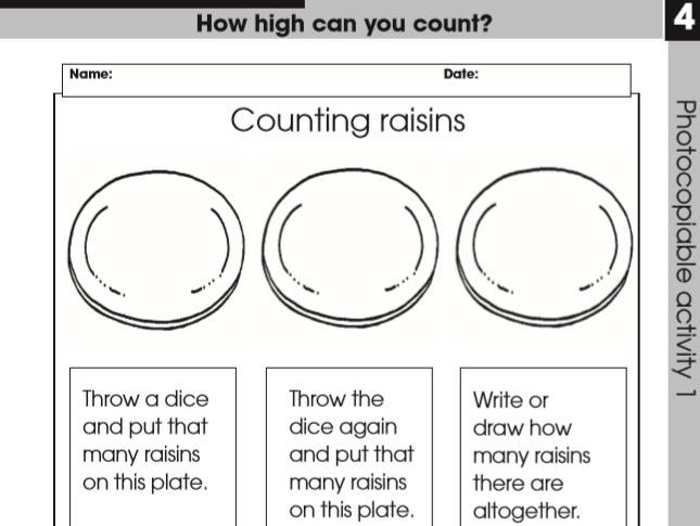 EYFS, Maths, How High Can You Count unit