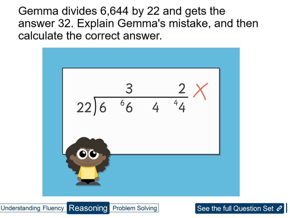 Year 6 Division: 4 Digits by 2 Digits