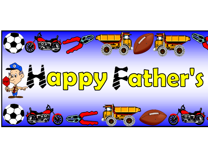 'Happy Father's Day' Themed Pack