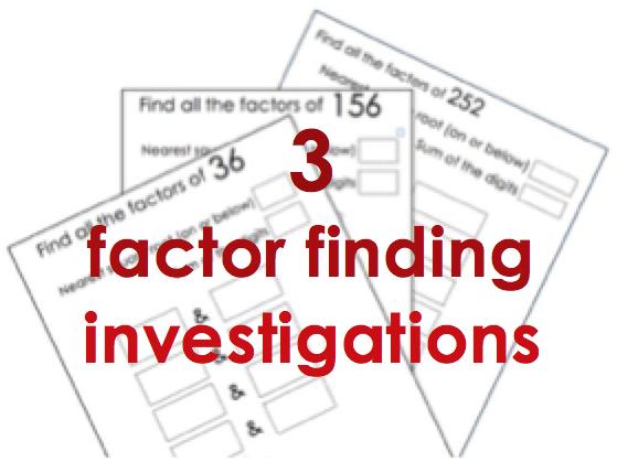 Factors KS2