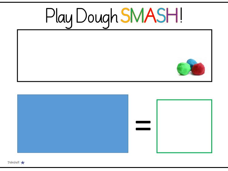Playdough Smash - Subtraction