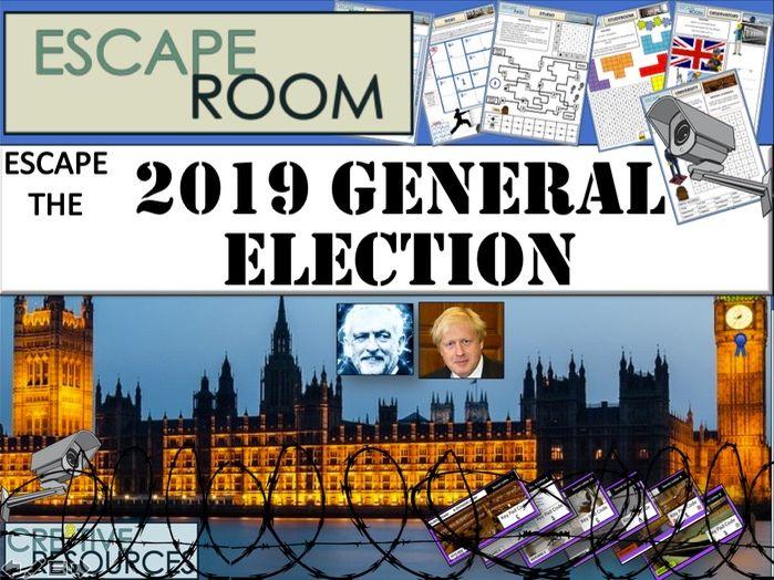 2019 General Election Escape Room