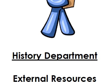 Extra Task/Activities Year 10 (not in workbooks)