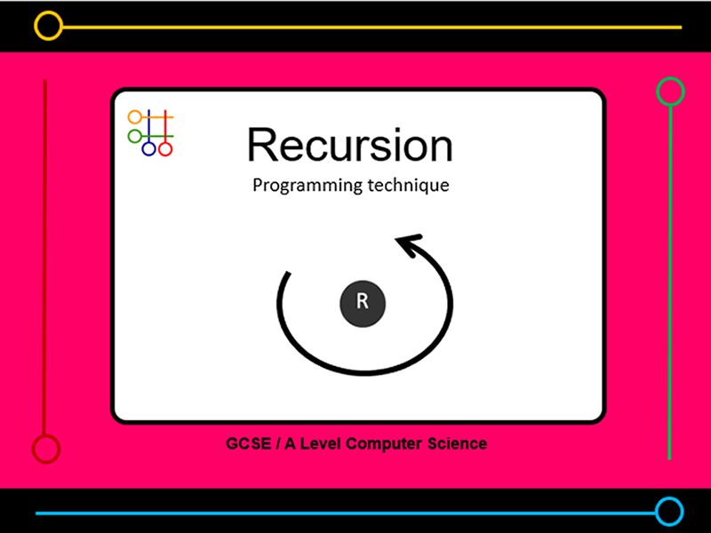 Presentation:   recursion programming technique (x10 slides)