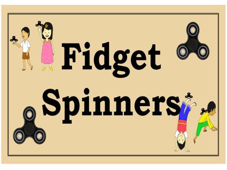 Fidget Spinner Presentation – Assembly / Lesson/ Quiz