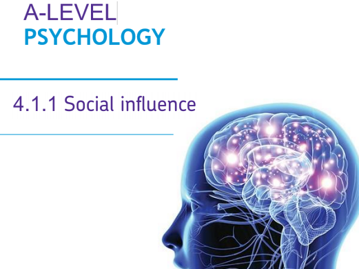 AQA Social Influence Pack for AS and A-level Psychology
