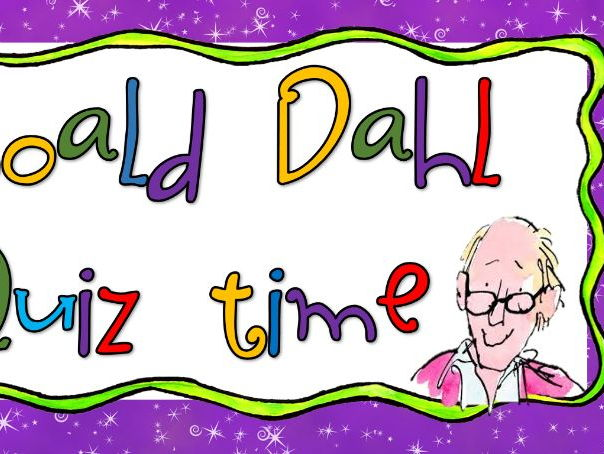 Roald Dahl Quiz World Book Day