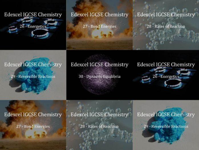 Edexcel IGCSE Chemistry Presentations Chapter 6 - Physical Chemistry