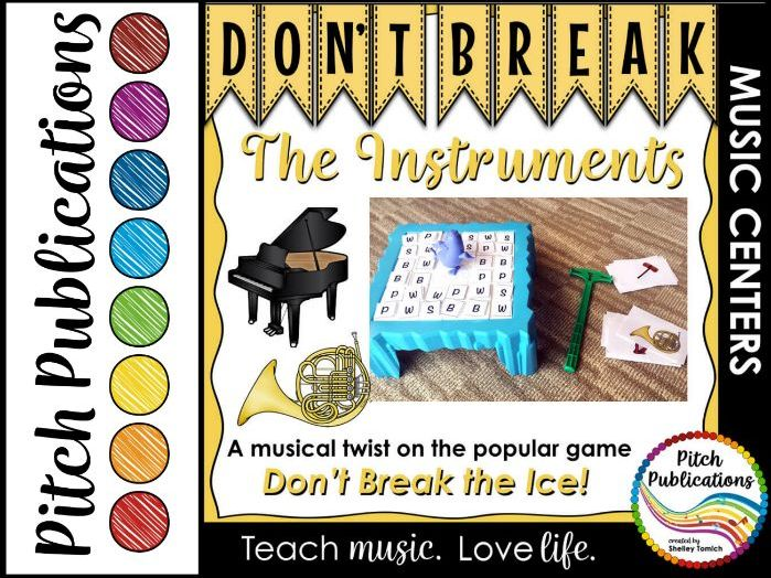 Music Center: Don't Break the Instruments! - Instrument Family Game