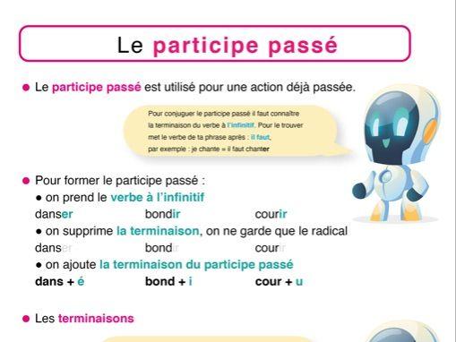 Participe passé (past particle)
