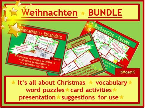 Christmas Colourful German BUNDLE