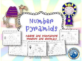 Integer and Decimal Number Pyramid