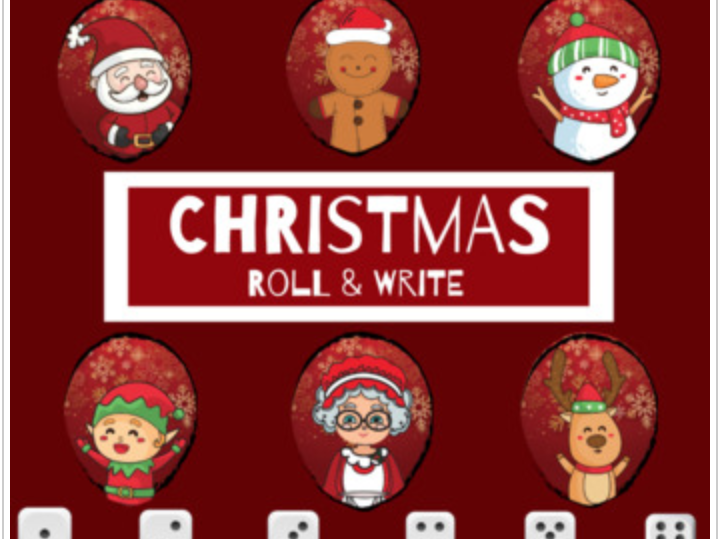 Christmas Roll & Write