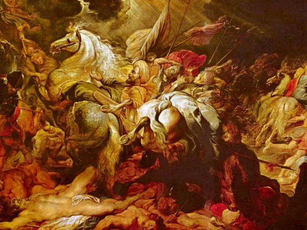 The Destruction of Sennacherib (Lord Byron): GCSE Literature Conflict Poetry FULL LESSON + RESOURCES