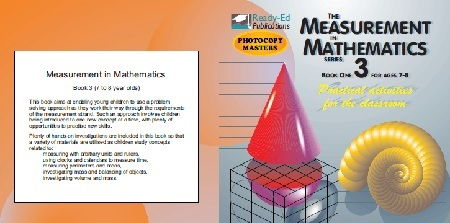 The Measurement in Mathematics 3 - Practical Measuring Activities for the Classroom - For ages 7-8