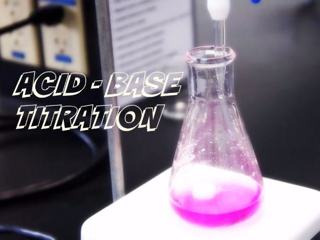 (NEW) BTEC L3 Applied science Unit 2: calculating unknown solution titration work pack