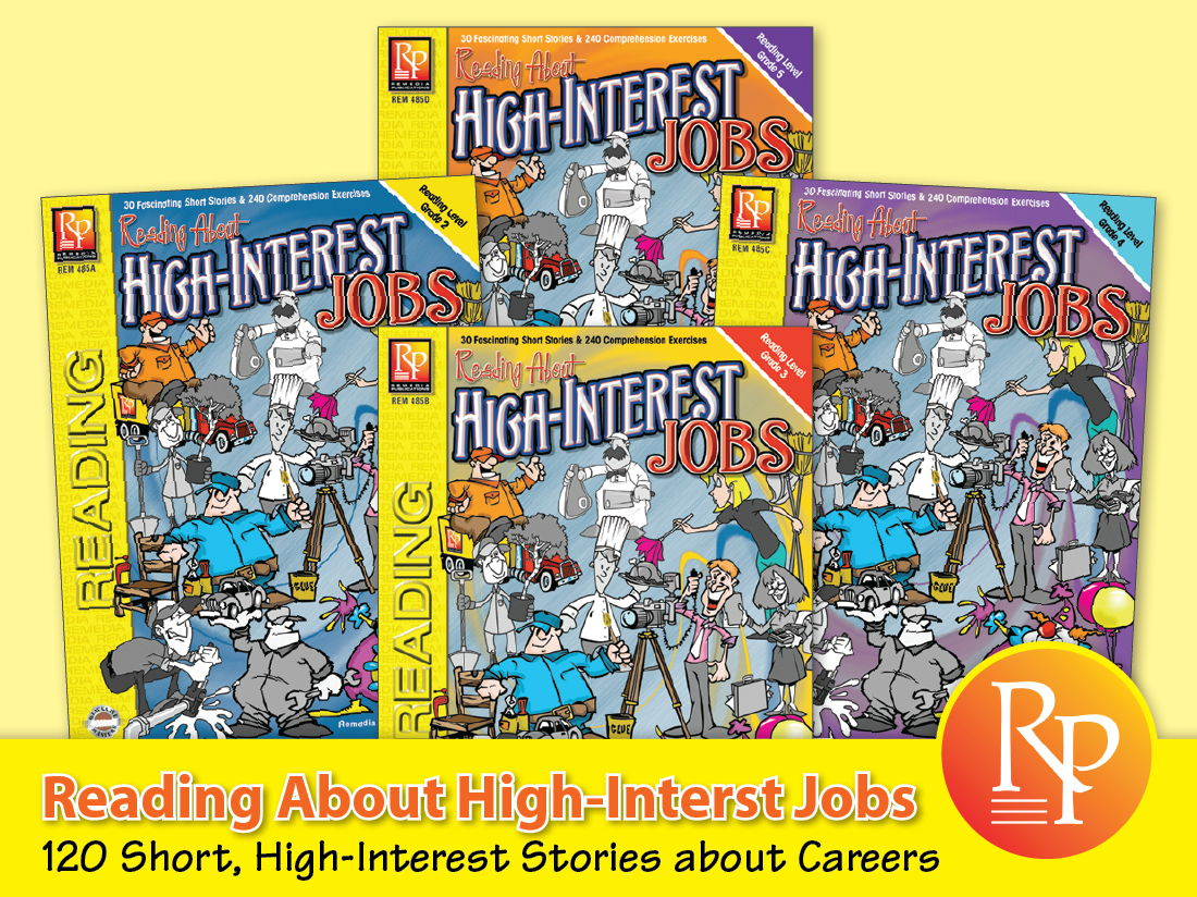 Reading About High-Interest Jobs {Bundle}