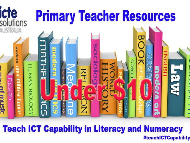 Teach ICT Capability in Year 1 Literacy