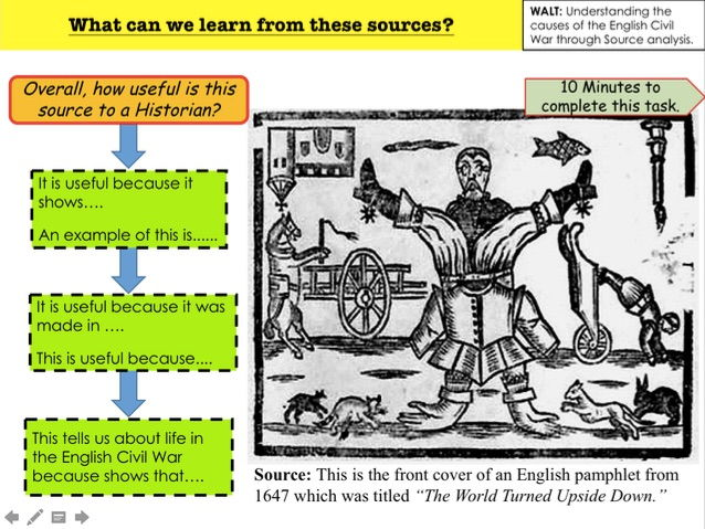 English Civil War What can we learn from these sources?