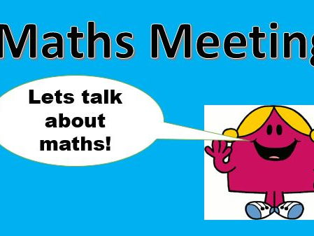 Maths Meetings KS1 and KS2 by Whitley01 - Teaching Resources - Tes