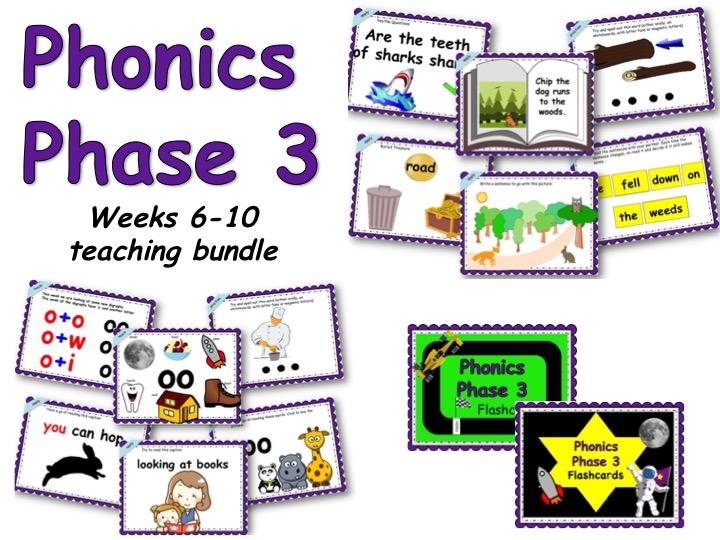 Phonics Phase 3 Weeks 6-10