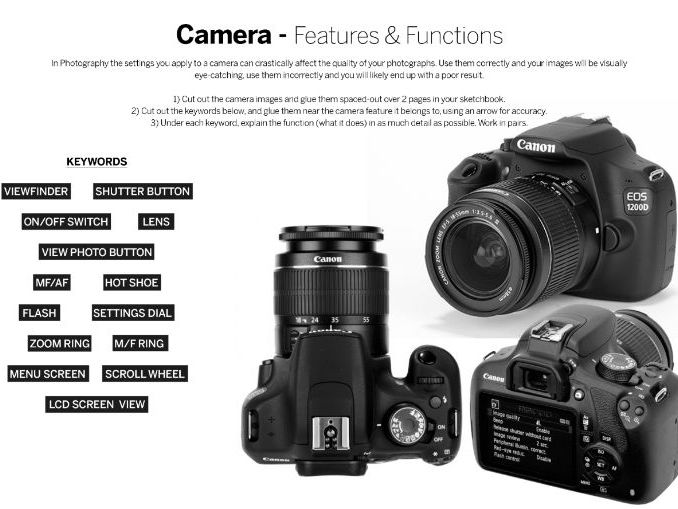 Photography - Camera Features and Functions