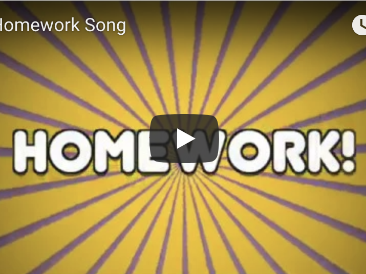 Homework Song - Digital Video File