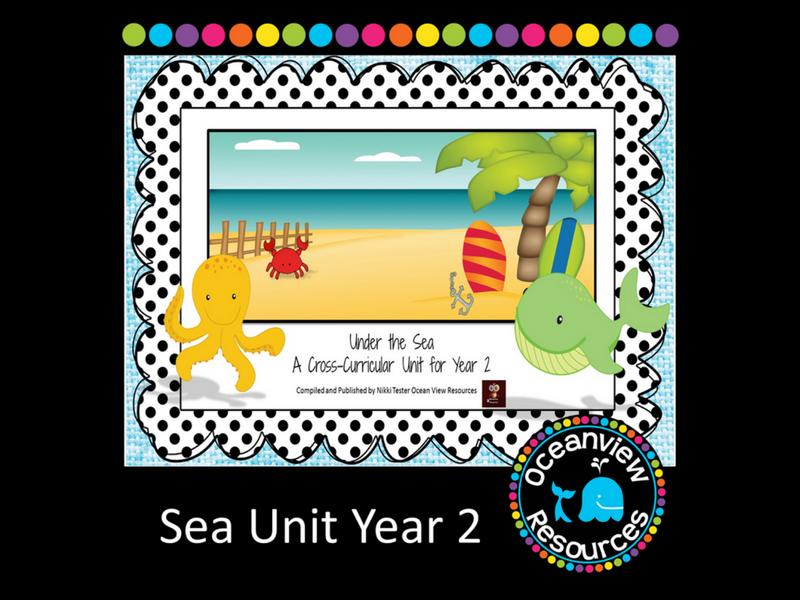 Year 2 Sea Themed Cross Curricular Unit