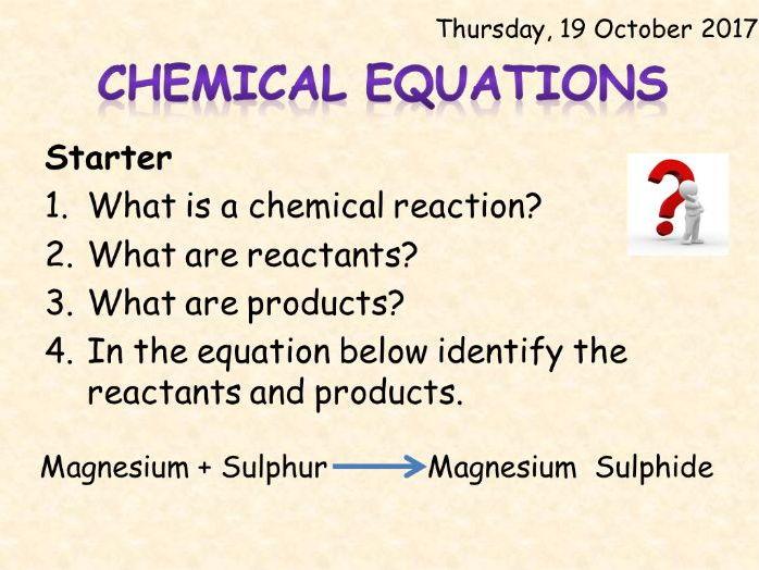 AQA Chemistry Topic 1: Chemical Equations
