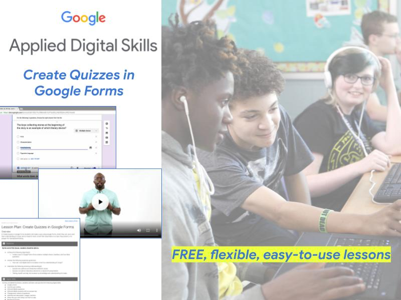 Create Quizzes in Google Forms