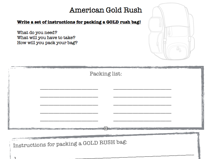 Gold Rush America Resources