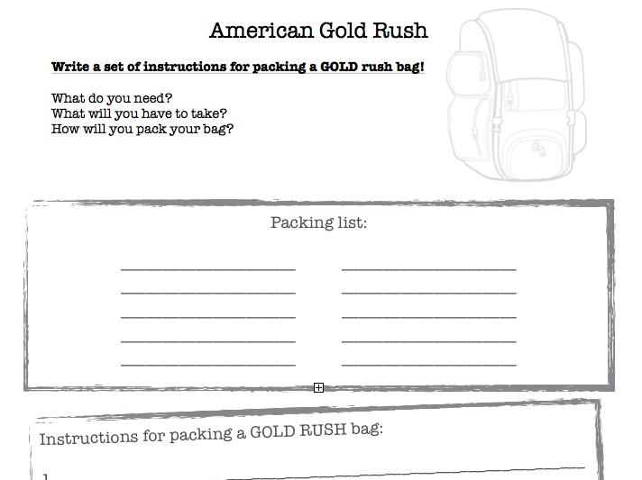 Gold Rush America Resources