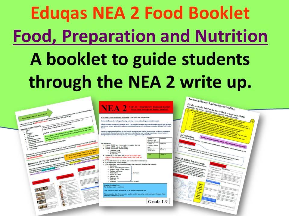 NEA 2 Eduqas Booklet
