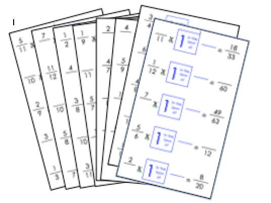 Equivalent Fractions: resource pack