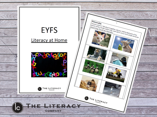 Literacy learning from home - EYFS